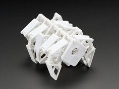 NEW PRODUCT – Humble Velocipede Ligaments Kit This kit contains the necessary connector parts that go into building a Humble Velocipede. It complements the Crankshaft Kit and provides all the… Impression 3d, 3d Hubs, 3d Printing Diy, Table Cafe, Perpetual Motion, 3d Laser, 3d Prints, Diy Electronics, Design Process