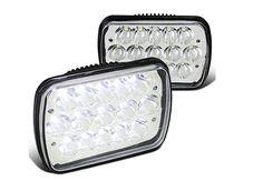 "DOT 80W 4x6/"" LED Rectangular Headlight High Low Sealed Beam Fit For Pickup Truck"