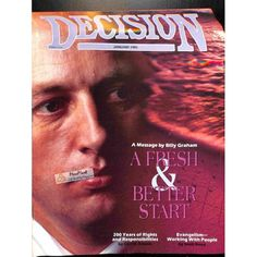 Cover Print of Decision Magazine, January 1991 | $6.60