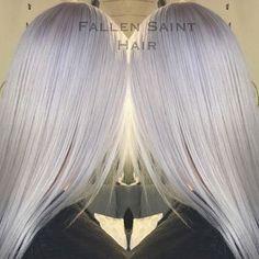 A r c t i c  W h i t e.  Hints of violet & ice blue make the perfect backdrop on this pure arctic white... frozen 🌬🌬 hair by @loren.fallensainthair 😍😍 #wella #wellaeducation #behindthechair #olaplex #white #whitehair #frozenhair #coolhair #violet #violethair #pastel #pastelhair #hair #haircolor #hairstyle #haircut #hairgoals #hairinspiration #hairsalon #hairstylist #boldmere #suttoncoldfield #birmingham #fallensaint #fallensainthair