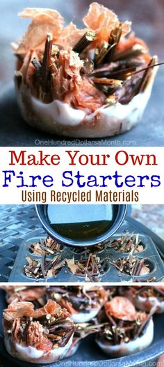 I had some leftover wax after turning some old candles into new candles. I wasn't sure exactly what I was going to do with it–but it felt kind of like a waste to throw it away. Then, lo and behold, I happened upon my friend, Jane's, idea to turn them into little fire starters. Clever …