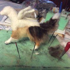 Adding the fur