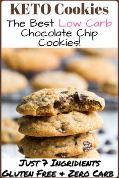 Keto Cookies The Best Low Carb Chocolate Chip Recipe Keto Diet