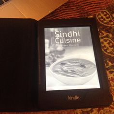 #Friend downloads #SindhiCuisine on #Kindle and #bookmarks many #recipes ..Yay..!!!