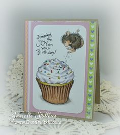 Rain Puddles Design: House-Mouse Designs® are available at Stampendous