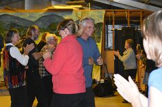 Fun had by all at the finishing shed dance.