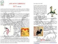 Información sobre o ano do cabalo