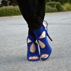 Love! #blue #highheels #shoes #luxury #style #fashion