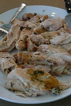 Lemon-Herb Turkey Breast in the CrockPot [dinnertimeideas.blogspot.com]