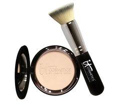 IT Cosmetics Anti-Aging Celebration Foundation with Brush — QVC.com