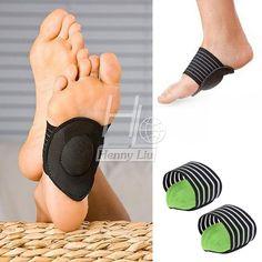 2017 Hấp Thụ Gây Sốc Foot Arch Support Plantar Fasciitis Heel Pain Aid Feet Cushioned New vận chuyển miễn phí