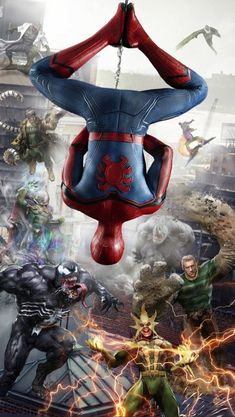 Venom Spidey Faces Spiderman Avengers Villain Comic Book Adult Tee Graphic T-Shirt for Men Tshirt Hero Marvel, Marvel Avengers, Spiderman Marvel, Spiderman Spider, Amazing Spiderman, Reborn Anime, Spiderman Pictures, Avengers Wallpaper, Action Wallpaper