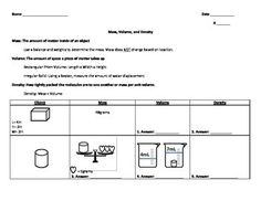 properties of objects worksheet for 3rd grade LAIBA