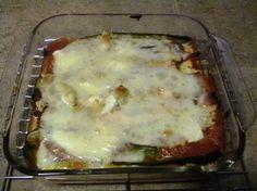 Specific Carbohydrate Diet For Life: SCD Recipe: Zucchini Lasagna