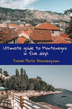 Traveling in Montenegro Greece Culture, Montenegro Travel, See World, Greece Holiday, The Perfect Getaway, Ultimate Travel, Amazing Adventures, Greece Travel