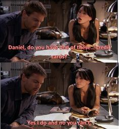 Daniel And Vala- the only acceptable person I would allow with Daniel ( aside from Janet)