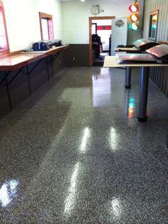 Durable And Decorative Epoxy Floor Coating In Findlay, Ohio.