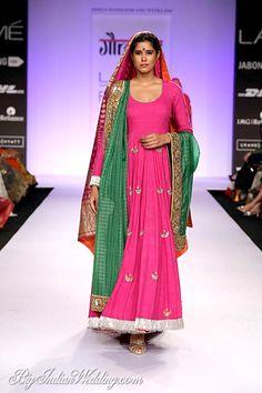 Gaurang Shah Lakme Fashion Week 2014 | Lehengas & Sarees | Bigindianwedding