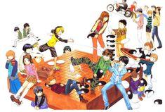Hikaru no Go cast of characters. Hikaru No Go, Nancy Momoland, Go Game, Tsundere, Geek Out, City Streets, Bowser, Manga Anime, Geek Stuff