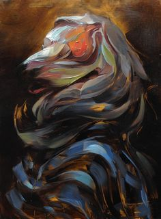 inhale, #painting #art #theostudio