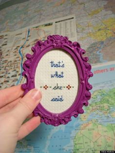 19 hilariously NSFW cross stitches you won't find at grandma's house