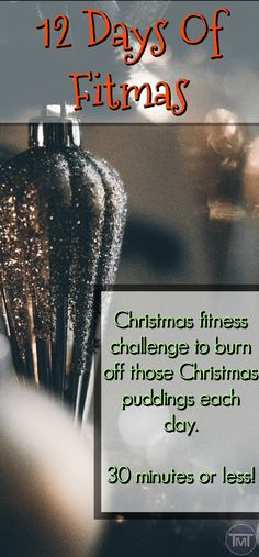 The 12 days of Fitmas, Christmas fitness challenge to help you get a head start on your New Year's resolutions and goals. Plus a way to burn off that Christmas food and do a little to avoid the guilt later. #fitfam #fitnesschallenges #fit #exercise #Christmas #health #exercise