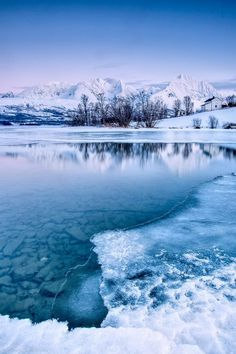 Blue Ice - Lyngen Alps, Tromso, Norway