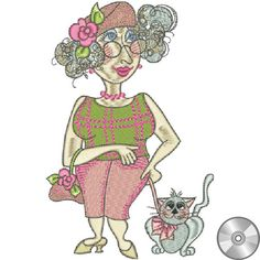 Thelma Embroidery Design | CD