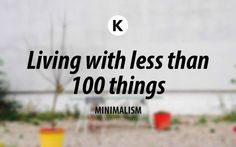 """About 1,5 years ago I made a radical decision and got rid of nearly all my  stuff. Back then I wrote on my blog: """"I own less than 100 things now"""".  People often ask me how it's working out for me and this is the follow-up  post giving the answer."""