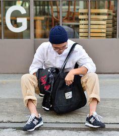 Streetwear / Street Style / Menswear / New Balance / Sneakers / Kicks New Balance Outfit, New Balance Sneakers, Men Looks, Asian Style, Asian Men, Business Casual, Street Wear, Menswear, Men Casual