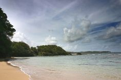 one of the 'secret' beaches in Dominica
