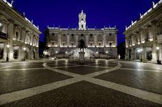 Piazza del Campidoglio - Rome Danced on this piazza!! Romantic!