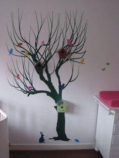 boom tekening op muur - Google zoeken