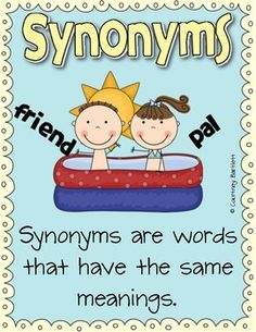 Easter Themed Synonym Match 3 6 Free Resources Pinterest Worksheets Speech Therapy