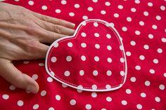 Herztasche für Dirndl, Röcke und Kleider selbernähen