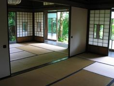 Bringing the outside indoors in the Japanese home.