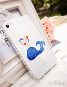 Whale Phone Case ≧◔◡◔≦