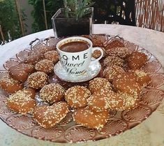 Cake Mix Cookie Recipes, Cake Mix Cookies, Greek Sweets, Greek Recipes, Pancakes, French Toast, Breakfast, Food, Bakken