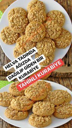 Delicious Desserts, Dessert Recipes, Yummy Food, Tahini, Cookery Books, Food Platters, Turkish Recipes, Banana Bread Recipes, Food Presentation