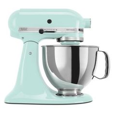 mint kitchen aid standing mixer!!!