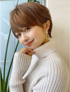 Kawaii Hairstyles, Hairstyles Haircuts, Japanese Haircut, Petty Girl, Shot Hair Styles, Hair Images, Japanese Beauty, Beauty Queens, Woman Face