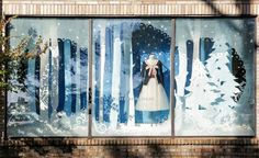 Anthropologie – American Store Holiday Windows 2012 | International Visual