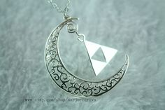 The Legend of Zelda jewelry new moon jewelry on Etsy, $2.80