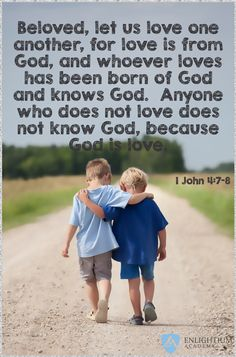 Beautiful verse about how we are to love one another. 1 John 4:7-8 Bible Verses About Love, Favorite Bible Verses, Bible Scriptures, Bible Quotes, Love One Another Bible, Beautiful Verses, God Is, Memory Verse, Power Of Prayer