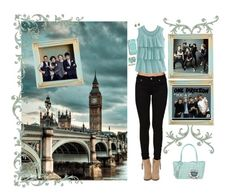 """""""~ London ~ { One Direction }"""" by stylistic-1 ❤ liked on Polyvore featuring Bullhead Denim Co., BUCO, sweet deluxe, Marc by Marc Jacobs, White Leaf and Harrods"""