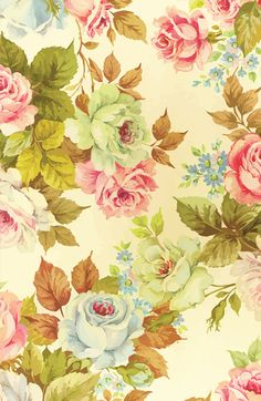 Love Wallpapers Portrait : PATTERNS: ROSES on Pinterest Rose Wallpaper, Vintage ...