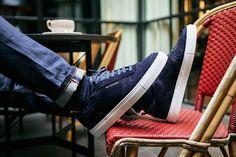 À la fois décontractée et élégantes, ces baskets Belledonne sont la paire parfaite à associer avec un jean ou un manteau marine !  ⠀ #mode #fashion #menswear #mensstyle #streetstyle #streetwear #lifestyle #mensfashion #fashionblogger #frenchblogger #fashionblogger #claelosangeles #footwear #menshoes #belledon #sneakersaddict #sneaker #sneakerlife #sneakers #sneakernews #sneakerstyle #sneakershoes #sneakersnstuff #sneakerheads #sneakerness #sneakershop #sneakerstyle #sneakerfam…