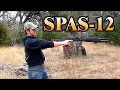 SPAS-12 Shotgun Point Blank