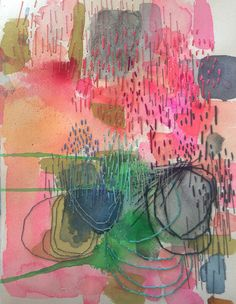 Letting Go: An Exploration of Abstract Painting {registration has just opened} | Jeanne Oliver