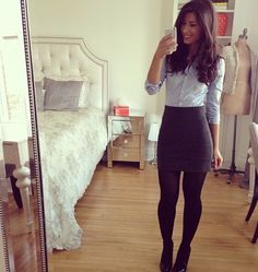 99 Creative Fall Business Outfit Ideas For Women Favorite Snow Boots Cute Office Outfits, Business Casual Outfits, Professional Outfits, Cute Outfits, Ladies Outfits, Office Skirt Outfit, Fashionable Outfits, Dressy Outfits, Office Fashion